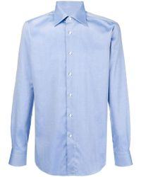 Brioni - Micro Textured Shirt - Lyst