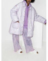 Natasha Zinko オーバーサイズ パデッドジャケット - ホワイト
