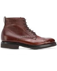 Henderson - Lace-up Ankle Boots - Lyst