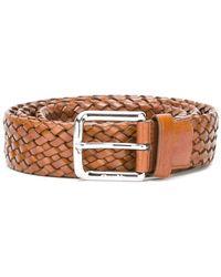 Church's Woven belt - Marrone