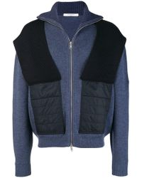 Givenchy Zipped Cardigan - Blue