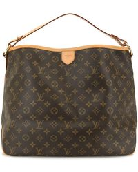 Louis Vuitton Borsa a mano Delightful 2010 Pre-owned - Marrone