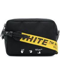 Off-White c/o Virgil Abloh Logo Crossbody Bag - Black