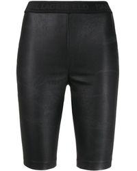Karl Lagerfeld Rue St-guillaume Bike Shorts - Black