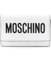 Moschino - Мини-кошелек С Логотипом - Lyst