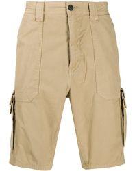 BOSS Shorts Met Meerdere Zakken - Naturel