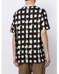 Bally プリント Tシャツ - ブラック