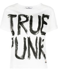 Vivienne Westwood Anglomania True Punk Tシャツ - ホワイト