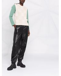 Ganni Smiley Fitted Sweater Vest - マルチカラー