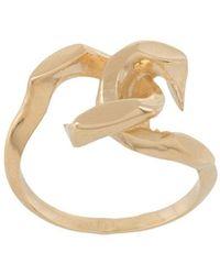 Annelise Michelson Tiny Déchainée Ring - Metallic