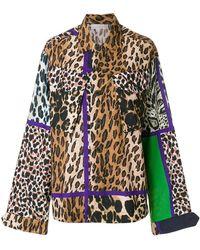 Pierre Louis Mascia - Leopard Panel Jacket - Lyst