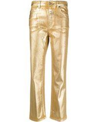 Just Cavalli Metallic Jeans