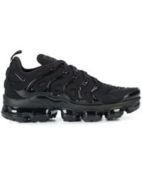 Nike Air Vapormax Plus Lace-up Trainers - Black