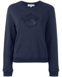 Carven - Embroidered Motif Sweatshirt - Lyst