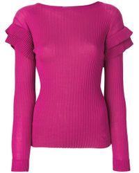 Philosophy Di Lorenzo Serafini - Pleated Sweater - Lyst