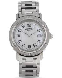 Hermès 2010 pre-owned Clipper Armbanduhr - Mettallic