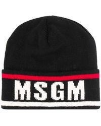 MSGM - ロゴ ビーニー - Lyst