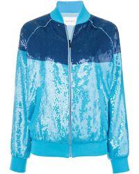 Alberta Ferretti Rainbow Week Jacket - Blue