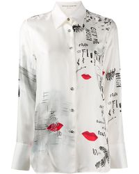 Ermanno Scervino グラフィック Tシャツ - ホワイト