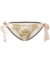 Gilda & Pearl - 'harlow' Tie-side Panties - Lyst