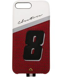 Chaos Electric 8 Print Iphone 8 Hoesje - Rood