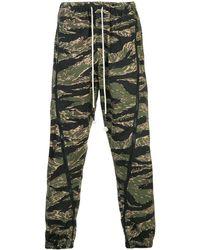 Mostly Heard Rarely Seen Jogginghose mit Camouflage-Print - Grün