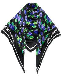 Balenciaga - Платок С Цветочным Принтом - Lyst