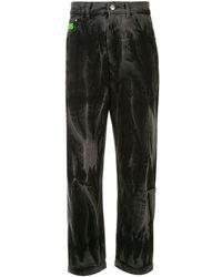 Gcds ストレートジーンズ - ブラック
