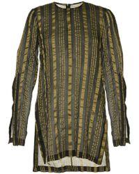 Kitx - Striped Sheer Top - Lyst