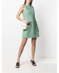 Ferragamo Платье-трапеция - Зеленый