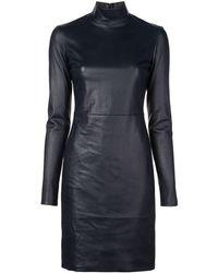 The Row タートルネック ドレス - ブラック