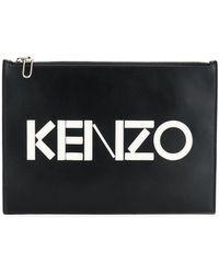 KENZO Pochette à plaque logo