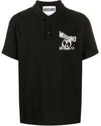 Moschino - ロゴ ポロシャツ - Lyst