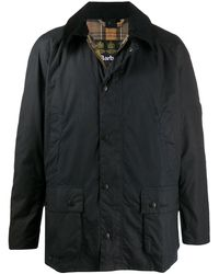Barbour Ashby ワックスジャケット - ブルー