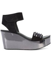 Pedro Garcia - Dinora Wedged Sandals - Lyst