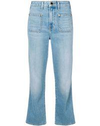 Khaite - Wide-leg Jeans - Lyst
