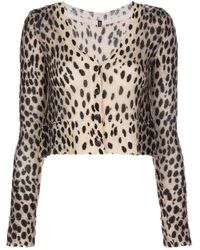 R13 Cashmere Cropped Cardigan - Multicolour