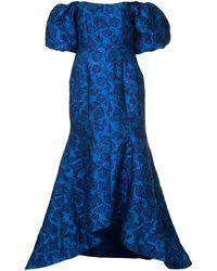Bambah Bellflower ドレス - ブルー