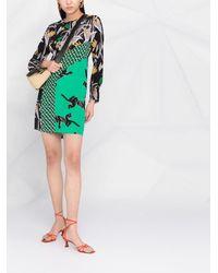 Diane von Furstenberg Платье Bali С Принтом - Черный