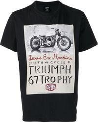 Deus Ex Machina Triumph プリント Tシャツ - ブラック