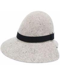 Henrik Vibskov Two Face Felted Hat - Grey