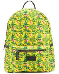 Fefe - Flamingo Print Backpack - Lyst