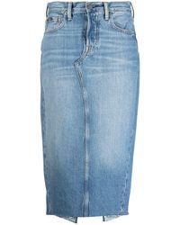 Polo Ralph Lauren デニム ペンシルスカート - ブルー