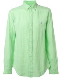 14b01fa0a9390 Lyst - Camisas Polo Ralph Lauren de hombre desde 53 €