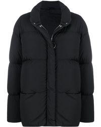 Ienki Ienki ジップ パデッドジャケット - ブラック