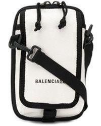 Balenciaga Explorer Crossbody Pouch - White