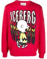Iceberg Peanuts スウェットシャツ - マルチカラー
