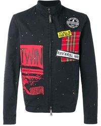 DSquared² - Jack Met Patches - Lyst