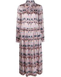 Liberty Etoile De Mer シャツドレス - マルチカラー