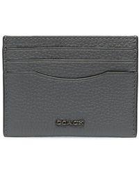 COACH カードケース - グレー